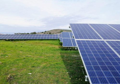Gewinnung von Solarenergie